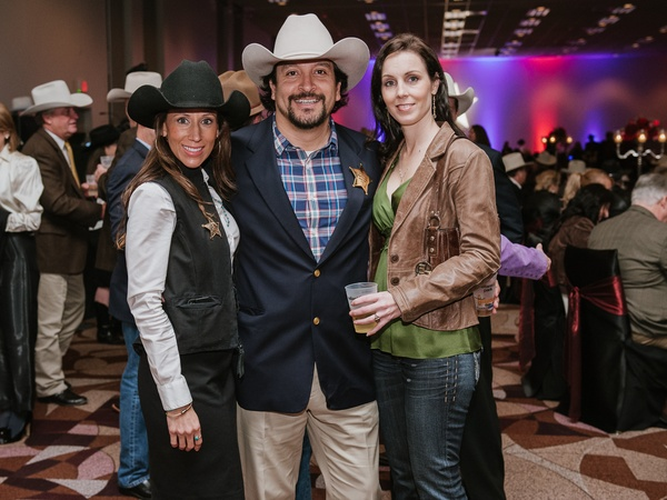 015, Rodeo Houston Hide Party, January 2013, Lisa Gonzalez, Jeff Pena, Sharri Taylor