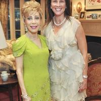 Houston Symphony, Underwriter Dinner, August 2012, Margaret Alkek Williams, Carla Dawson