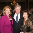 Carolyn and Jimmy Robertson, left, and Suzann Broesche at the Jung Center Spring Benefit April 2015