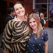 Jayne Spurgeon, left, and Lori Lang at the Houston Ballet Center for Dance's Ballet and Bubbles October 2013