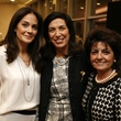 1 Karla Goudet, from left, Dr. Huda Zoghbi and Carmen Fahed at the Texas Children's Hospital What's Up Doc dinner November 2014