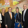 11 Leven Rambin, from left, Howard and Karen Rambin and Joe Rambin at the Keep Houston Beautiful luncheon
