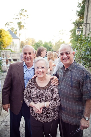 Houston, Robert Draper book signing, September 2015, Luke Mandola, Rose Mandola and Tony Mandola