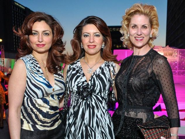 Simon Primavera Fashion Show, April 2013, Mahzad Mohajer, Parissa Mohajer, Paula Mott