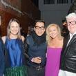 13 Daniel Turner, from left, Kate Allen Stukenberg, Jay Landa, Caroline Starry LeBlanc and Tim Moloney at the DiverseWorks Fashion Fete November 2014