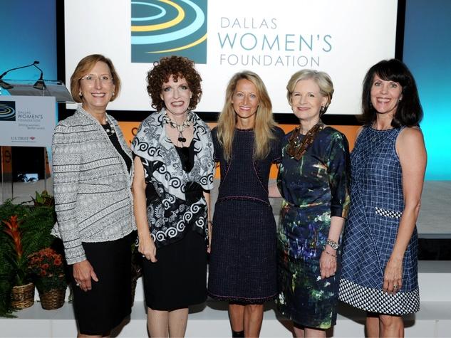 Roslyn Dawson Thompson, Sarah Losinger (Luncheon Co-Chair), Lynn McBee, Caren Prothro, Lauren Embrey