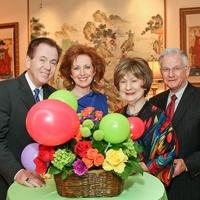 Moores Kickoff, January 2013, Hans Strohmer, Nancy Strohmer, Cora Sue Mach, Harry Mach