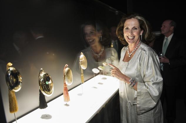 73 Christina Girard at the Bulgari exhibition dinner May 2014