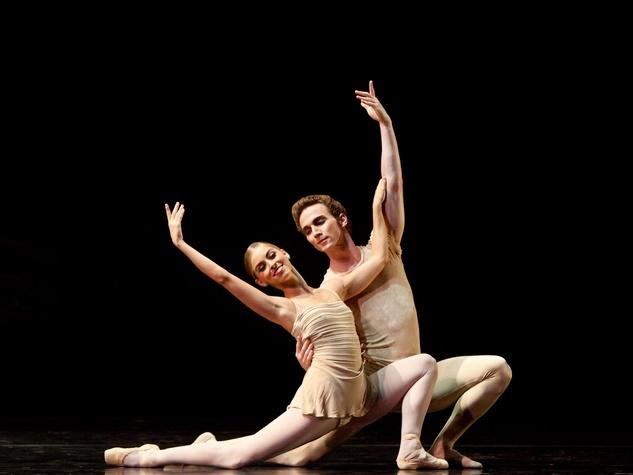 8999, Houston Ballet, Women@Art, September 2012, Allison Miller, Rhodes Elliot, The Brahms,Haydn Variations