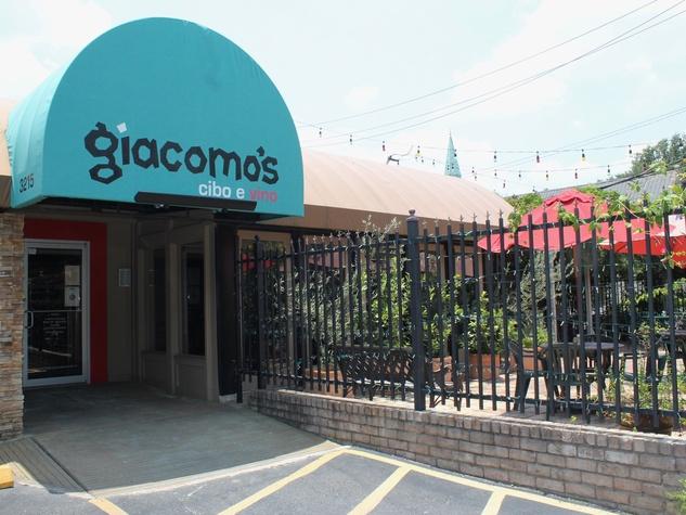 Giacomo's Restaurant, Exterior, June 2012