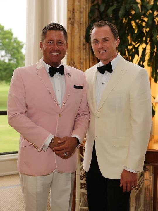 2 CancerForward Houston Gala May 2013 Brian Teichman and Andy Cordes