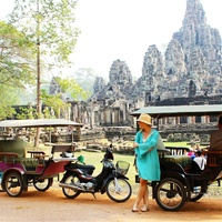 travel photos by Laurier Blanc June 2014 Cambodia- Tuk Tuk