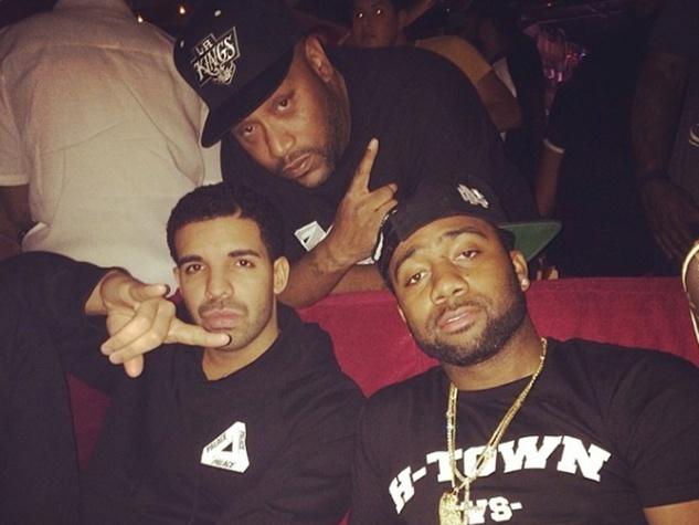 Drake and friends May 2014