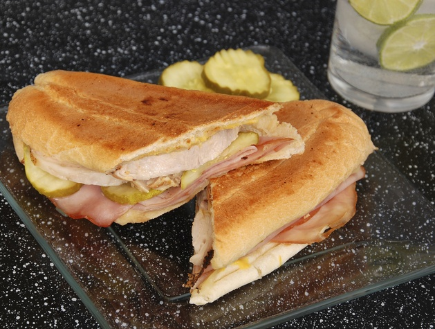 Cubano sandwich at Latin Pig restaurant in Plano