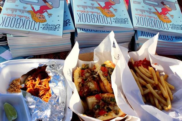 Austin Photo Set: News_Tiffany Harelik_trailer food_south congress_Nov 2011_food book