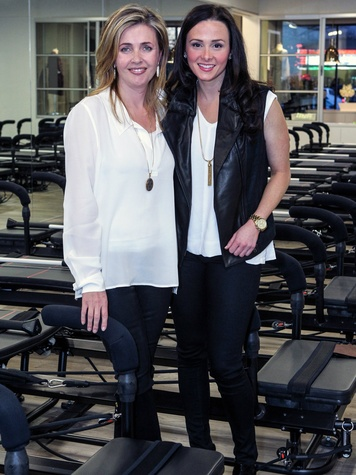 PilatesBarre Co Owners Lauren Sharng, Meghann OLeary