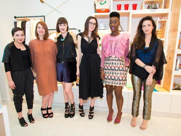 Belinda Barbosa, Natalie Daugherty, Amanda Reed, Bethany Burke, Diamond Mahone, and Samantha McCurdy