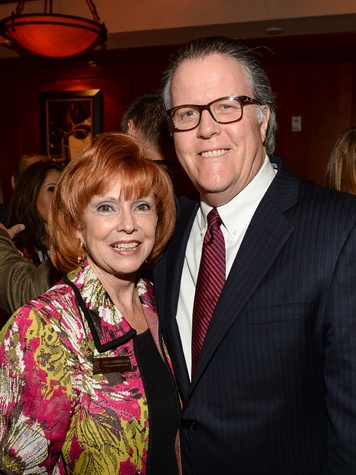 77 Dot Cunningham and John Breeding at Be an Angel March 2014