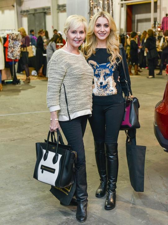 20 Karen Mayell, left, and Kelcy Mayell at the CultureMap Pop-Up Shop December 2014