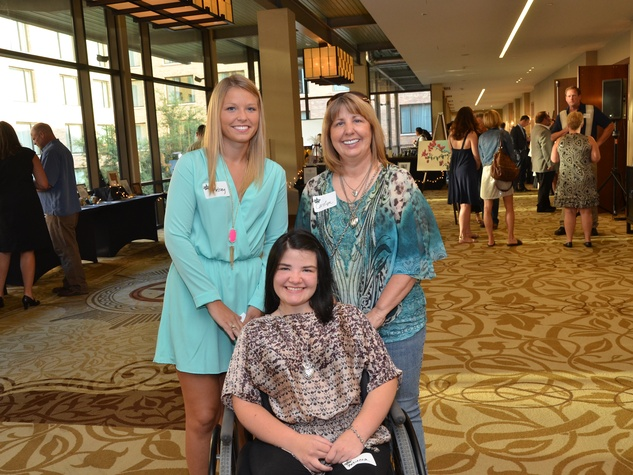 4th Annual Pay it Forward Benefit with Daniel Curtis in Austin Becca Shumaker Carolyn Shumaker Kelsey Shumaker