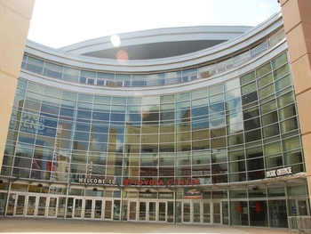 Places-A&amp;E-Toyota Center-exterior-1