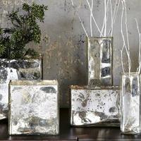 West Elm mercury glass vases holiday 2012