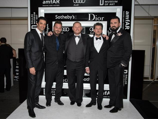 Gilles Marini, Travis Shinn, Kevin Frost, Conrad Leach, Chris Salgardo, TWO X TWO