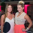 13 Kristen Martinson, left, and Jayme Lamm at the Pink Party at Hotel ZaZa July 2014