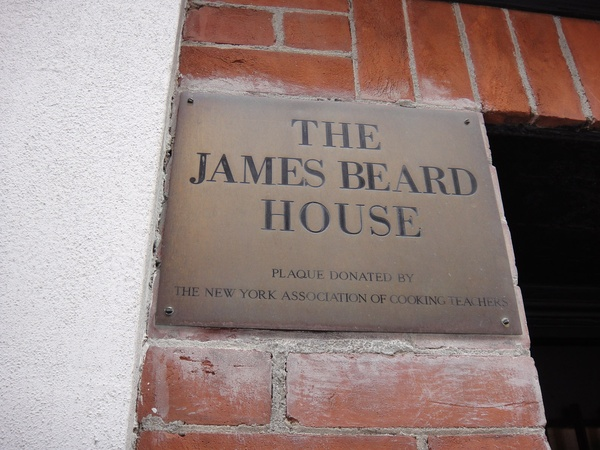 News_James Beard House_sign