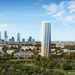 Hermann Park twist tower