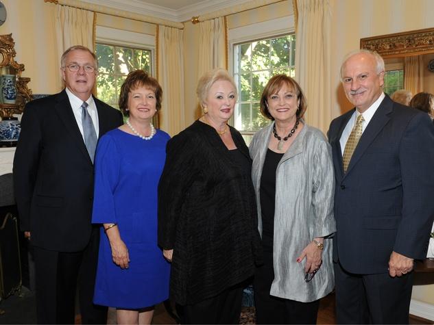 Mark Matson, Nan Matson, Mary Brinegar, Carol Hoey,  Vin Hoey