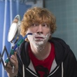 Domhnall Gleeson in the movie Frank