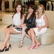 39 Mandy Kao, from left, Karina Barbieri and Cheryl Byington at the WOW Summer Soiree August 2014