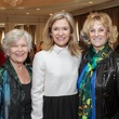 Diana Mattingly, from left, Katie Brass and Joyce Brass at the MS Society luncheon March 2015