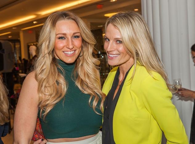 Alyssa Varty, Jennifer Timmins at Heart of Fashion kickoff party