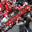 Dwight Howard rally fans