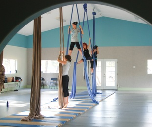 Austin Photo Set: News_Veronica_aerial conditioning_July 2011_two