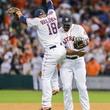 Astros celebration