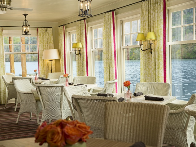 Lake Austin Spa Resort Dining Room