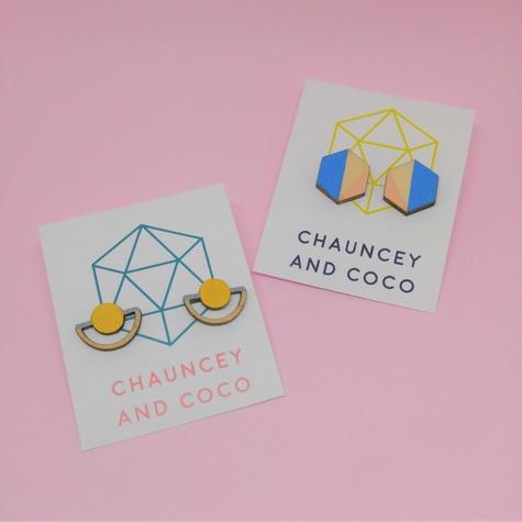 Chauncey and Coco earrings