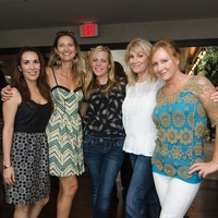 Mixers on the map olive and june  Michelle Garza, Jennifer Collopy, Julia Laughlin, Patty Almos and Jodi Holtz