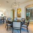 Eat-in kitchen and wine room at 9625 Preston Rd. in Dallas