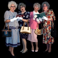 the Austin Babtist Women all male comedy troupe