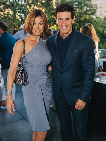 1 Dominique Sachse and Nick Florescu at Ceron 50th birthday party August 2014