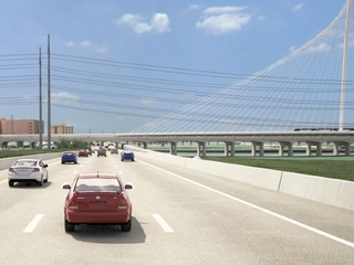 Trinity toll road