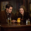 Chris Pine and Holliday Grainger in The Finest Hours