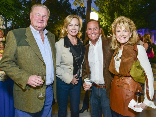 6 Keith and Alice Mosing, from left, and Jerry and Lisa Simon at the True Blue Gala October 2013