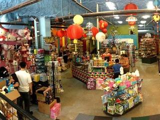 Toy Joy downtown interior of shop