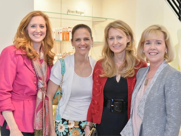 Tiffany Divis, Angie Kadesky, Lynn McBee, Christie Carter, Can Do Kickoff at Tootsies