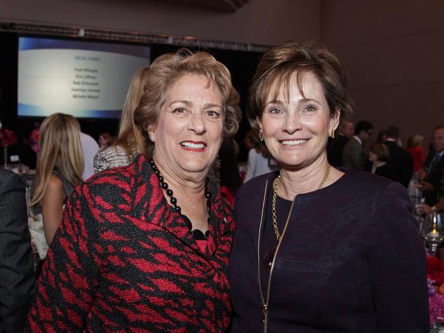 72 Legacy Luncheon September 2013 Ellen Cohen and Bobbie Nau